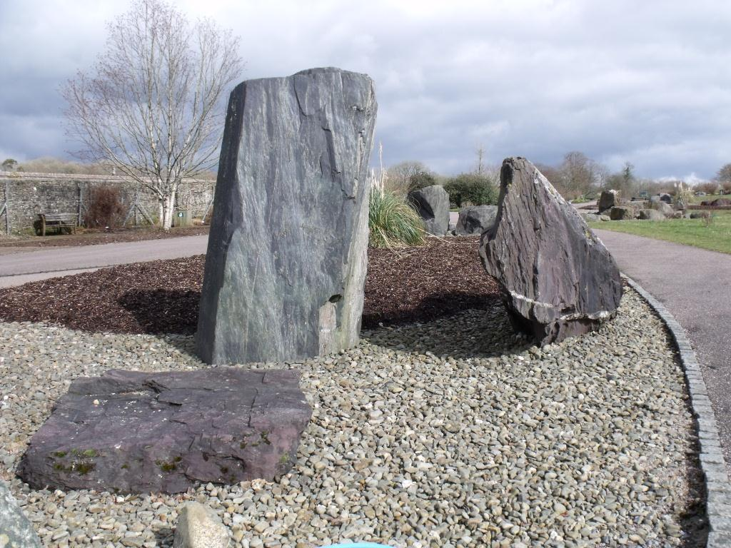 Cambrian rocks at the National Botanic Garden of Wales