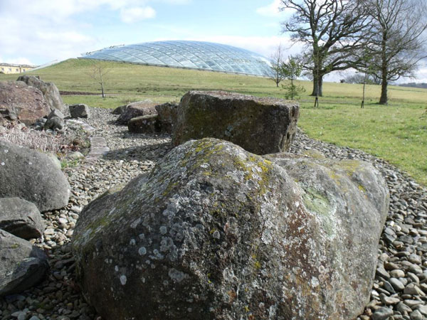 The Spotted Dolerite display at the NBG